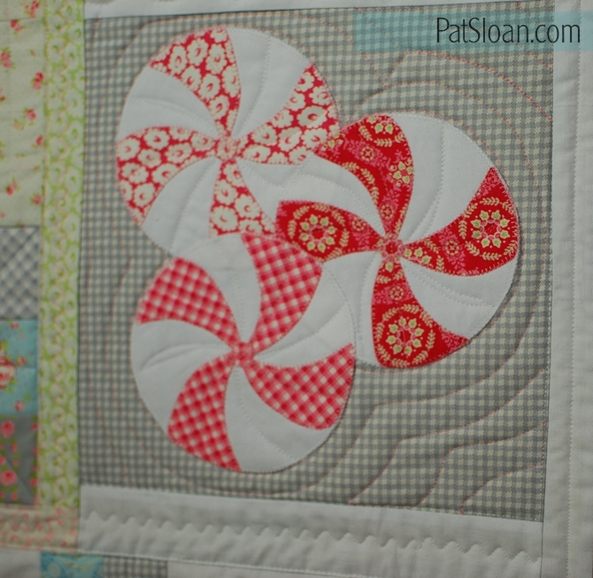 Pat Sloan Quilt Your Own Quilt assignment 3 pic 4
