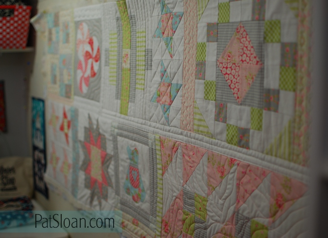Pat Sloan Quilt Your Own Quilt assignment 3 pic 1