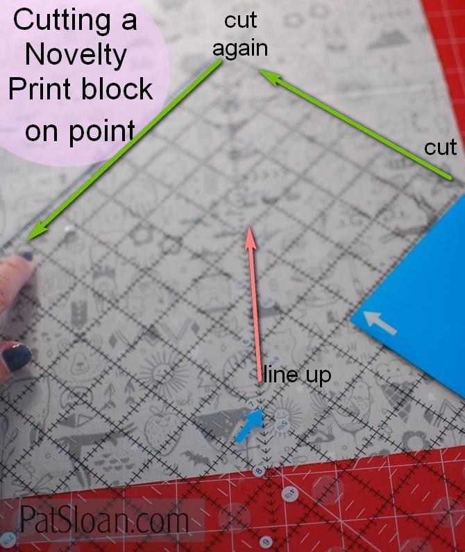 Pat sloan novelty print on point 1