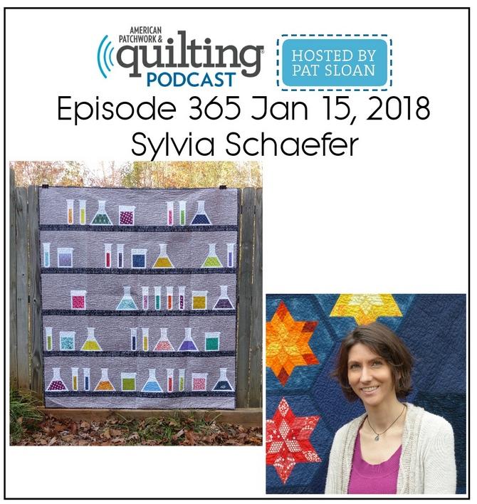 American Patchwork Quilting Pocast episode 365 Sylvia Schaefer