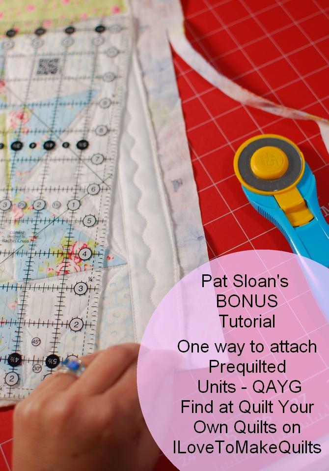 Pat Sloan Bonus QAYG tutorial banner