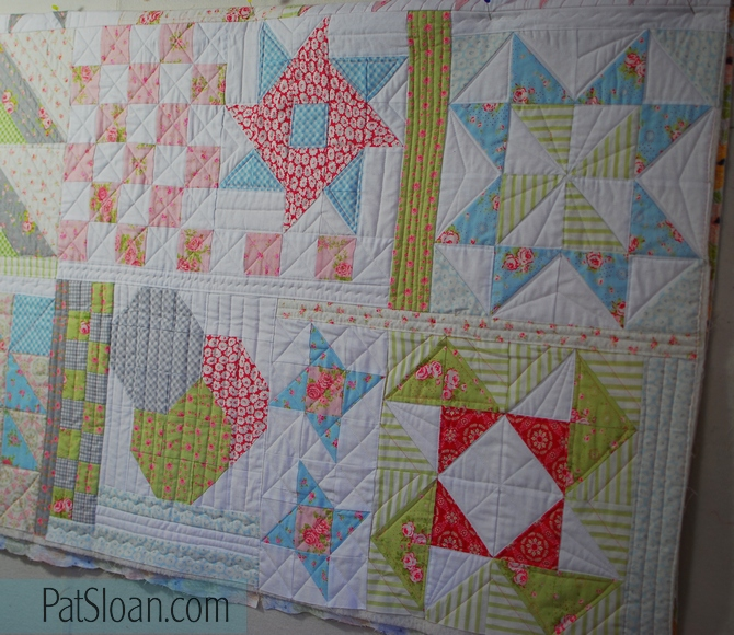 Pat sloan Quilt Your own quilt row 5 6 gmk plan pic2