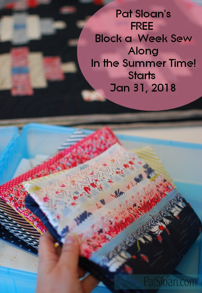 Pat Sloan In the Summertime fabric start date