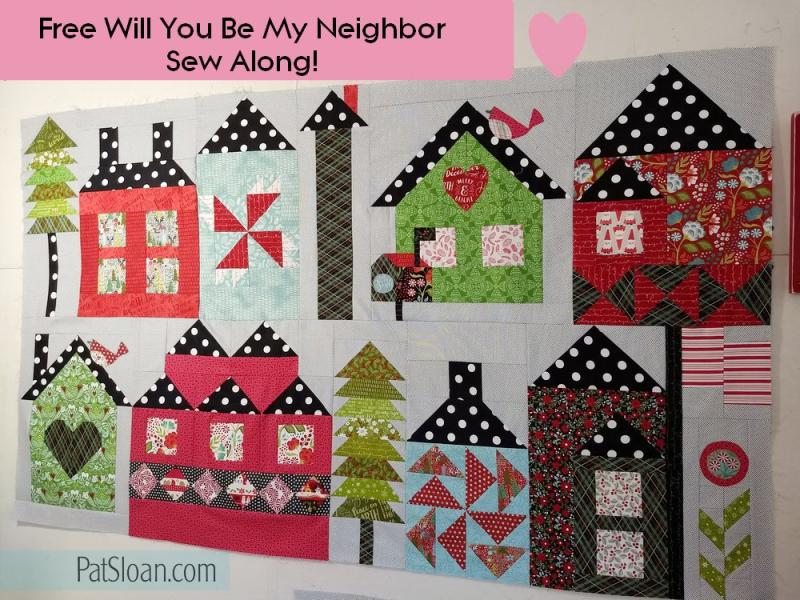 Pat sloan 1 8 neighbor blocks
