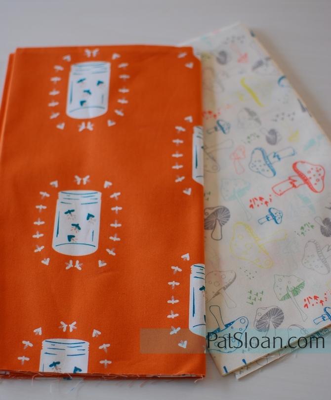 Pat Sloan Camping fabric