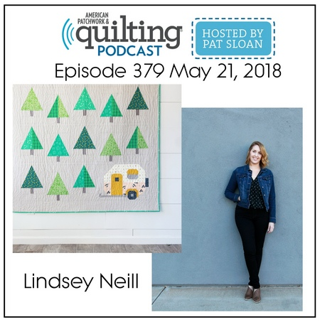 American Patchwork Quilting Pocast episode 379 Lindsey Neill