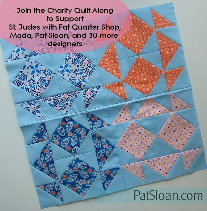 Pat Sloan Charity block 4 banner