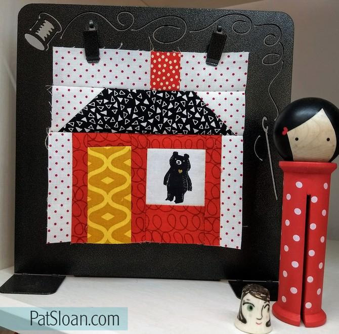 Pat Sloan House block alphabet quilt