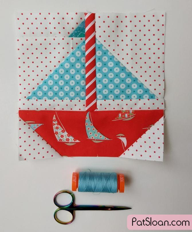 Pat sloan sailboat