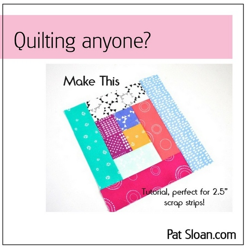 Pat sloan bluprint quilt article button
