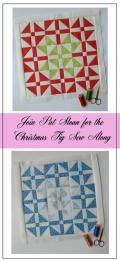 Pat Sloan Figtree Christmas sew along block 1