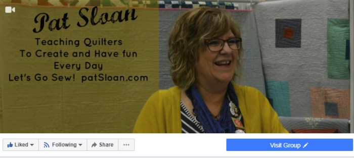 Pat sloan page banner