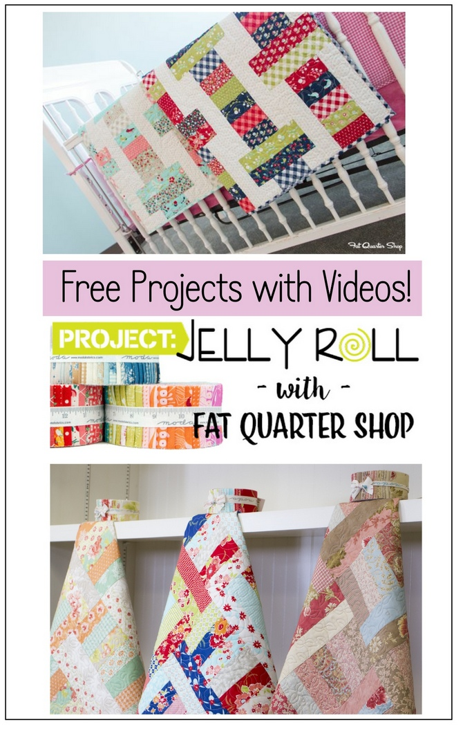 4aac1a1f2ff7cd Jelly Roll Day! Patterns of Mine   FREE Jelly Roll Quilts - Pat ...