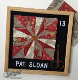 Pat Sloan Splendid Sampler 2 block 13