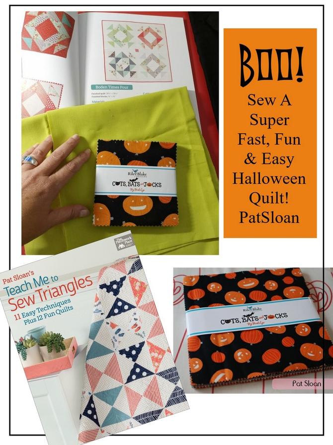 Pat Sloan Halloween Boden banner