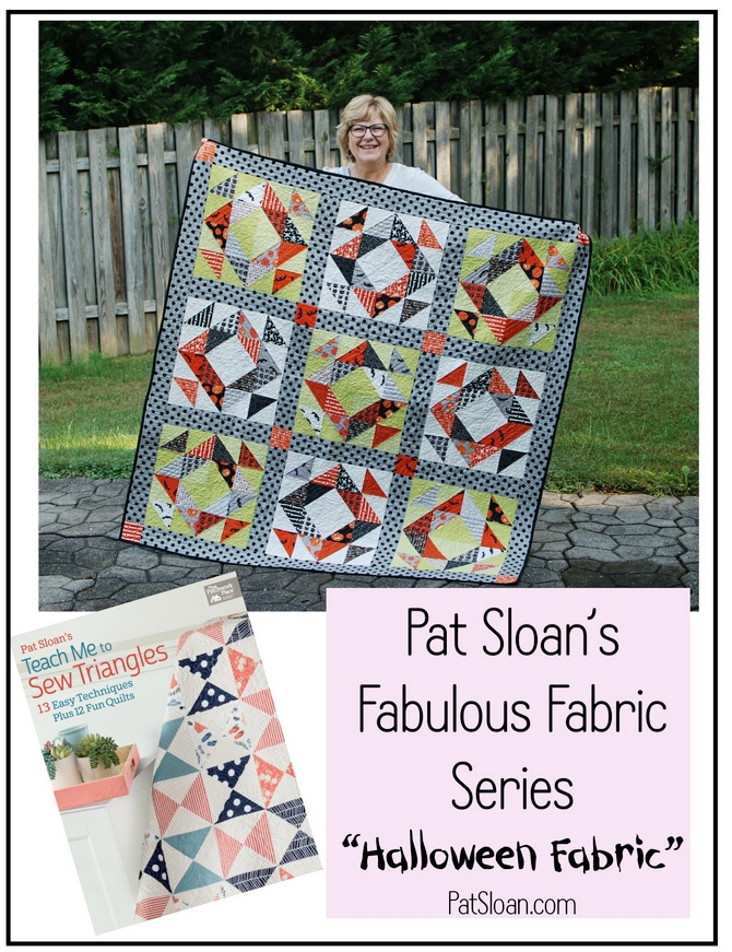 Pat Sloan Fabulous Fabric Series Halloween Boden