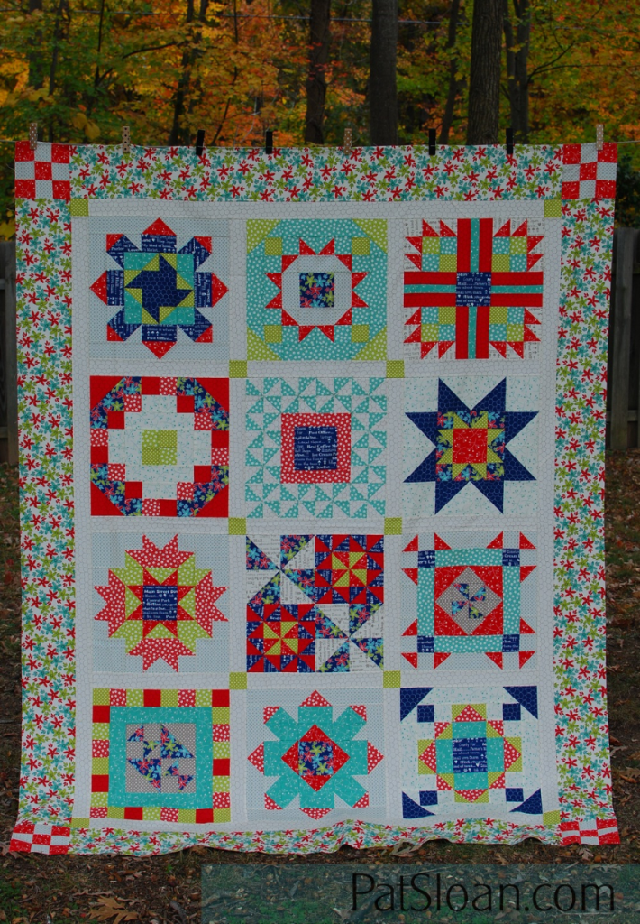 Pat Sloans I Love To Make Quilts