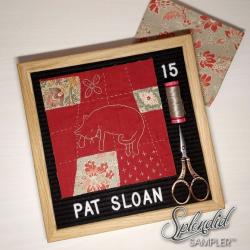 Pat Sloan Splendid Sampler 2 Nicole block