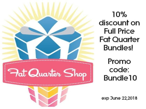 Fat quarter shop promo code