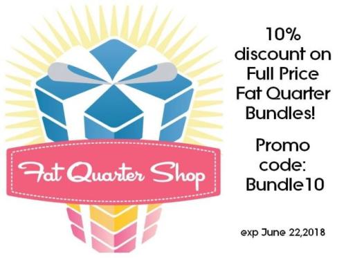 Fat quarter shop promo code