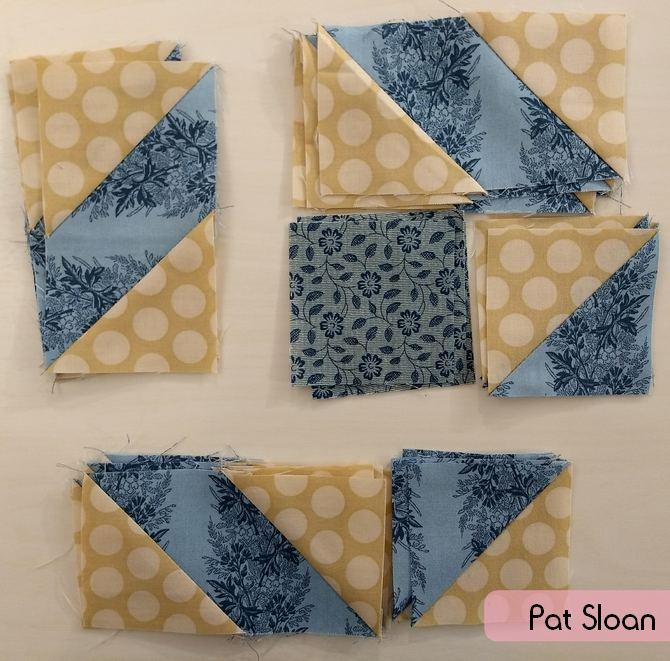 Pat Sloan Christmas blue Fig block 6 pic 3