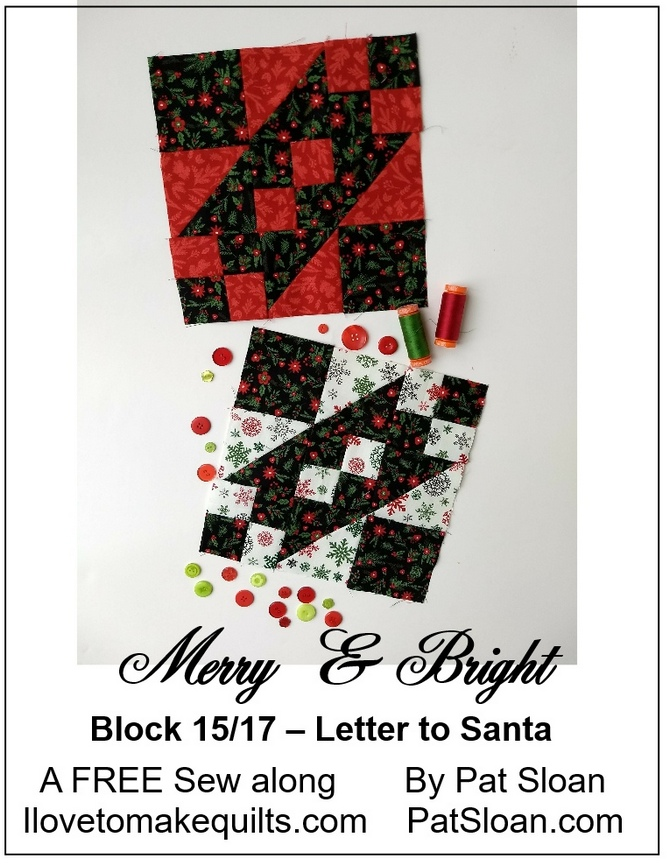 Pat Sloan Block 15 Merry and Bright buttonv2