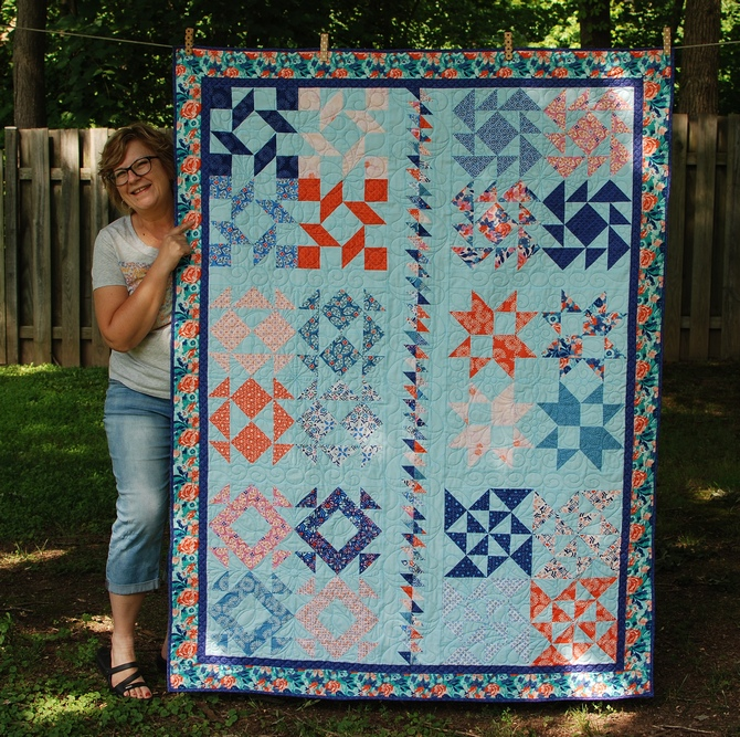 Pat sloan 2018 charity quilt pic 1