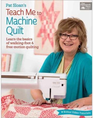 Pat sloan book machine quilting cover