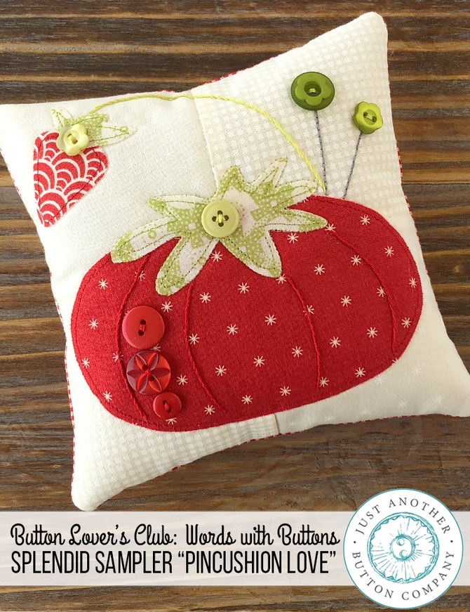 JABC-Words-with-Buttons-Pincushion-Love-Pillow-www.justanotherbuttoncompany.com-1