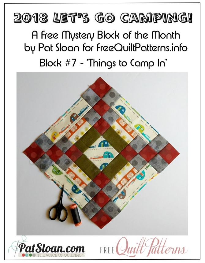 2018 7 camping block button
