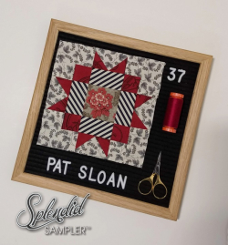 Pat Sloan Splendid Sampler 2 Pat Star light
