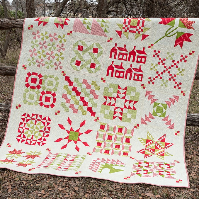 Christmas Fig Quilt joanna quilt 2
