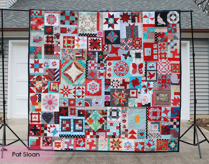 Pat Sloan Birthday Quilt Done Jan 2019 pic 1