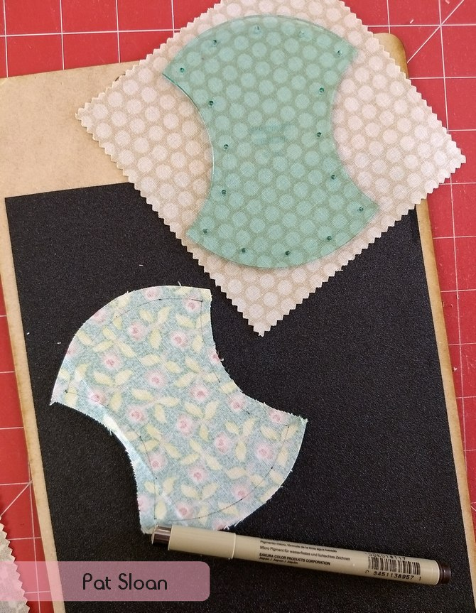 Pat Sloan hand piecing2