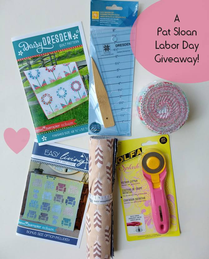 Pat Sloan labor day giveaway