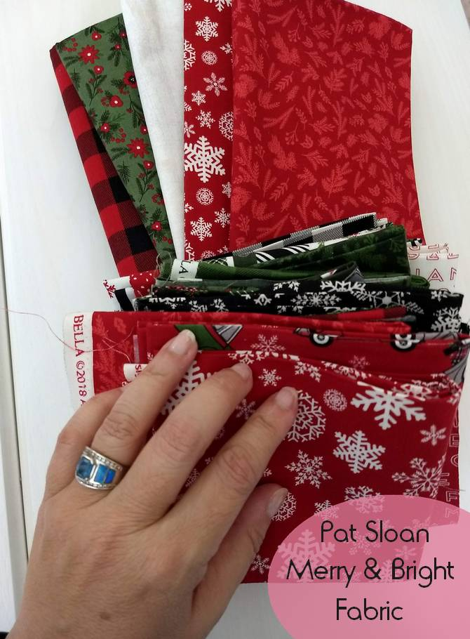 Pat Sloan Merry and Bright layout pic 5