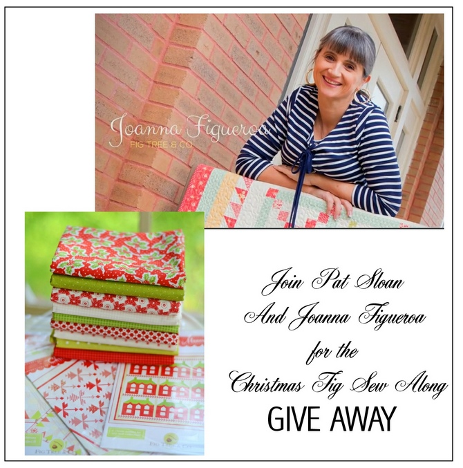 Pat sloan christmas fig giveaway
