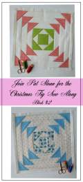 Pat Sloan Figtree Christmas sew along block 2