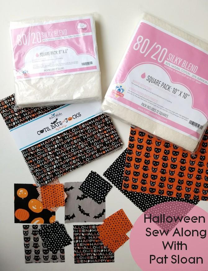 Pat Sloan Halloween Sew Along