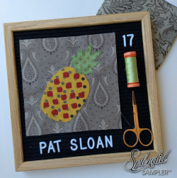 Pat sloan splendid sampler block 17