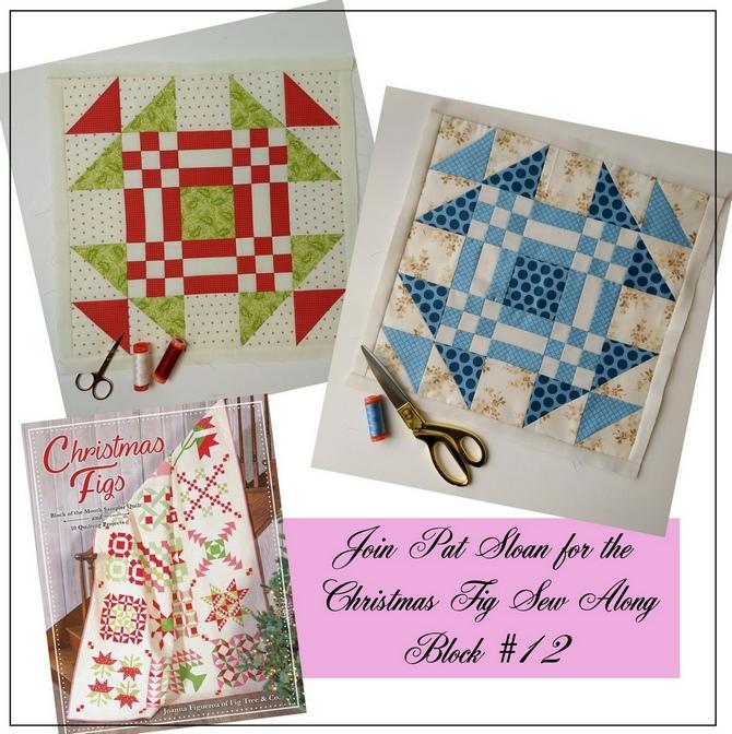 Pat Sloan Christmas Fig block 12 pic 2