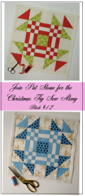 Pat Sloan Figtree Christmas sew along block 12