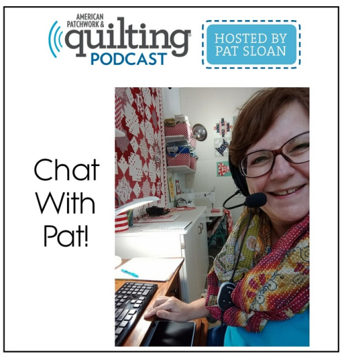 0 chat with pat sloan Show button
