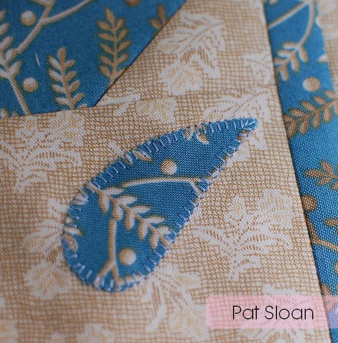 Pat Sloan Christmas figs blue block 13 pic 4