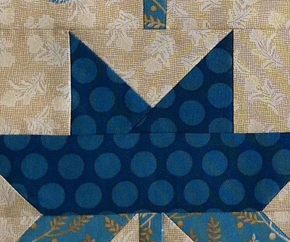 Pat Sloan Christmas figs blue block 13 pic 5