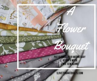 Pat Sloan 2019 A Flower Bouquet button 4