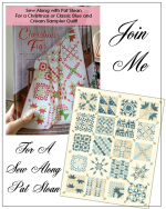 Pat Sloan merry and bright sew along button