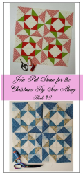 Pat Sloan Figtree Christmas sew along block 8