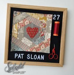 Pat Sloan Splendid Sampler 2 Patrinia Jahnke block