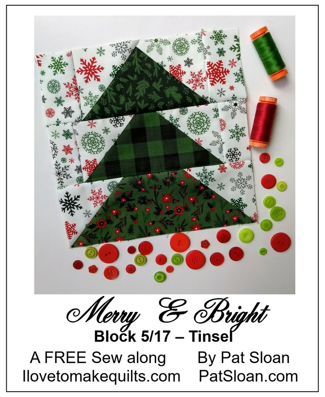Pat Sloan Block 5 Merry and Bright button